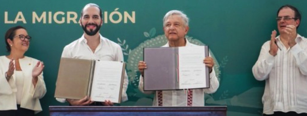 México y El Salvador firman acuerdo de cooperación bilateral
