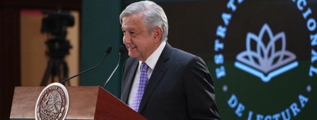 López Obrador da a conocer la Estrategia Nacional de Lectura