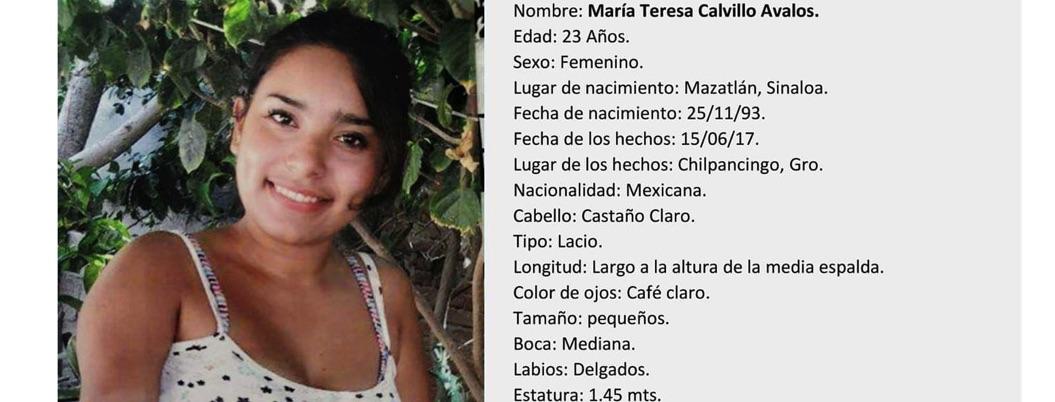 María Teresa desapareció en Chilpancingo; ayudemos a encontrarla