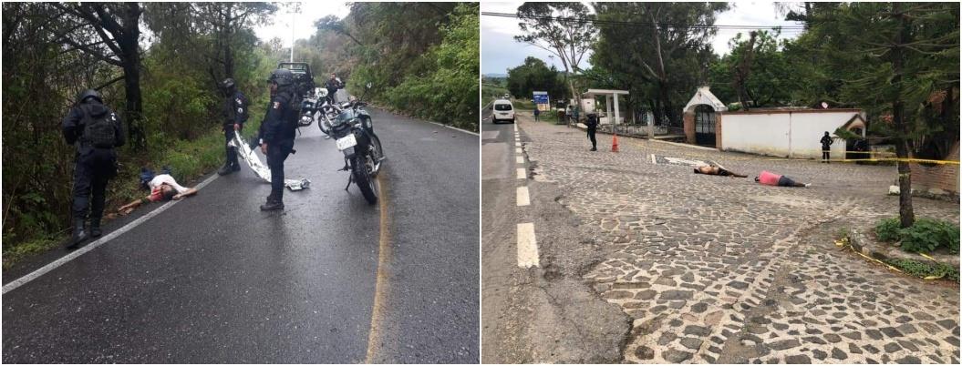 Ejecutan a tres personas en el municipio de Taxco