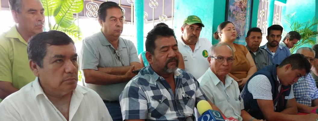 Organizaciones del PRI y PRD se radicalizan por falta de fertilizante