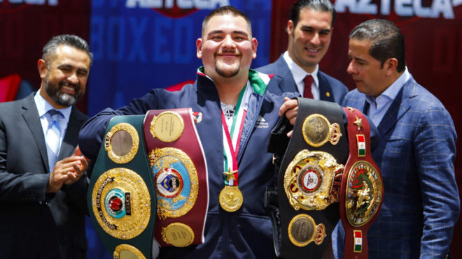 CONABOX pide a Andy Ruiz defender sus títulos en México