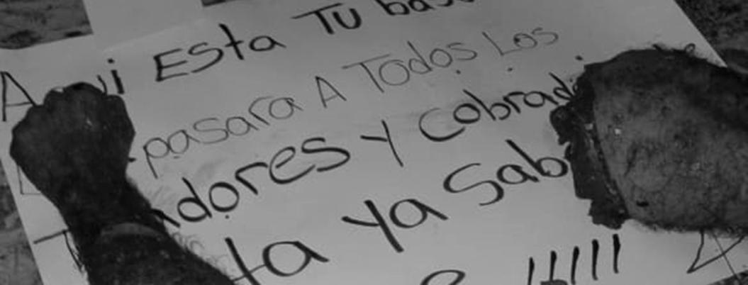 Hallan desmembrado a un hombre en barrio de Taxco