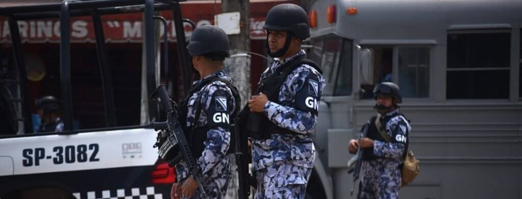 Guardia Nacional funcionará formalmente el próximo domingo
