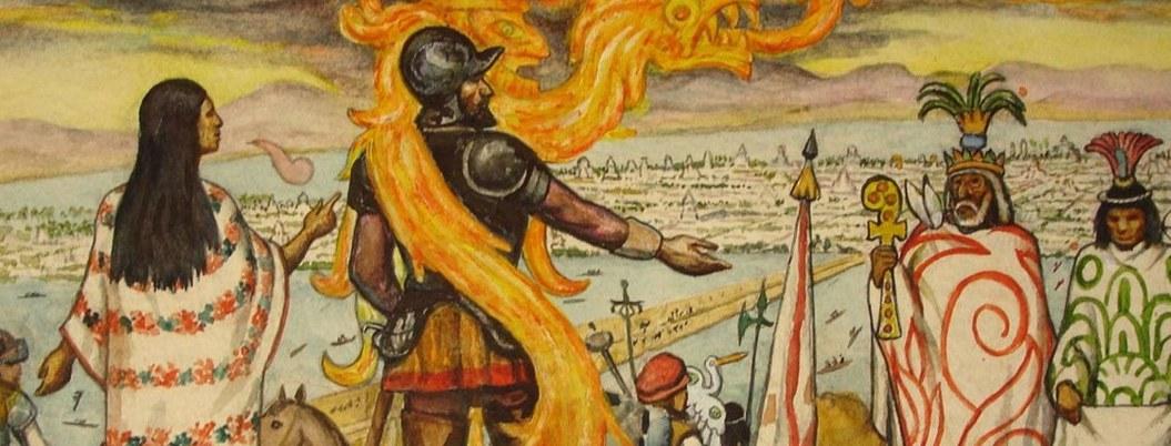 Hernán Cortes escribió un libro donde relato versión de la conquista