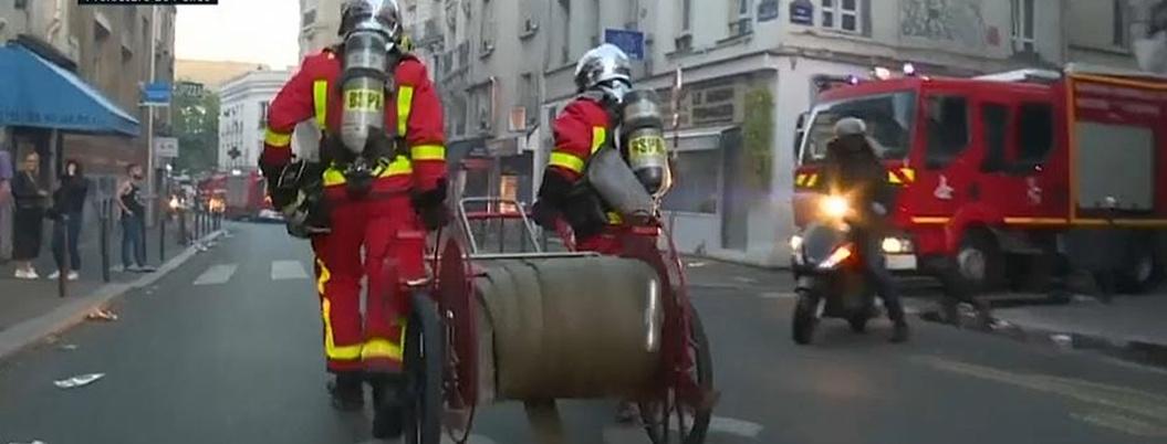 Mueren tres personas por incendio en el centro de Paría