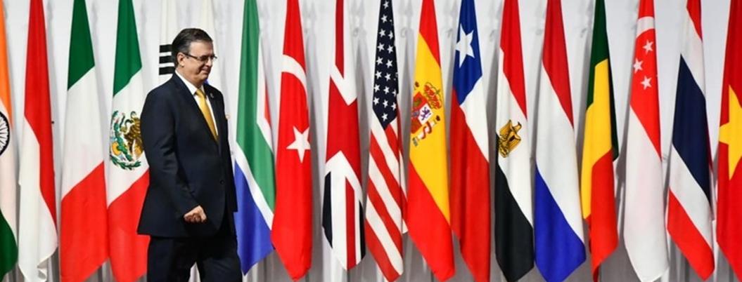 """""""México se apega al multilateralismo"""", señala Ebrard en el G-20"""
