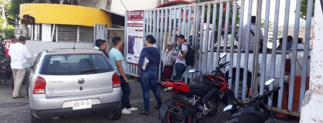 Paro sindical sabotea labores de PC en Acapulco