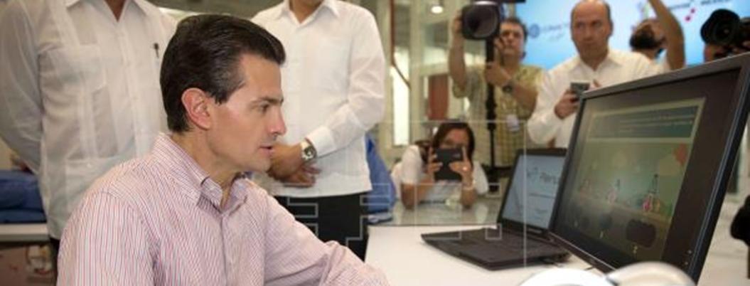 Peña entregó el 48% del presupuesto del Conacyt a empresarios