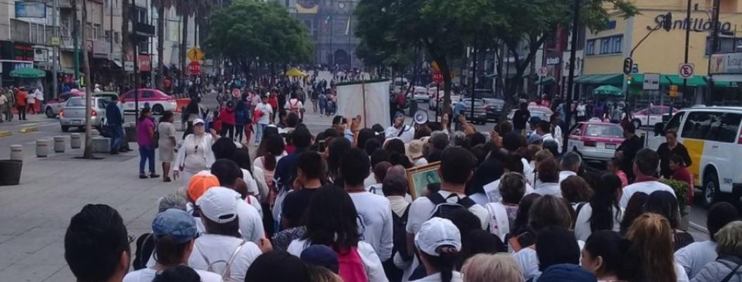 Organizan peregrinación para pedir por presunto asesino de Leonardo