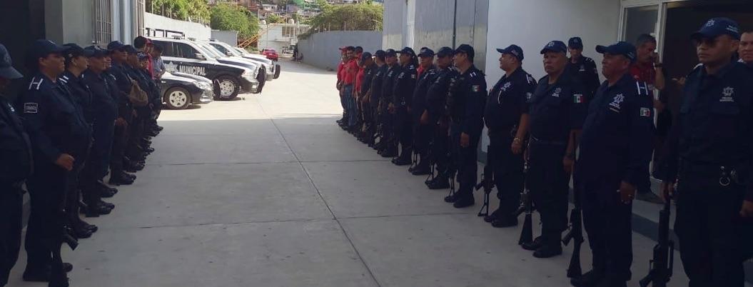 Regresan armamento a policías de Iguala tras casi cinco años de los 43