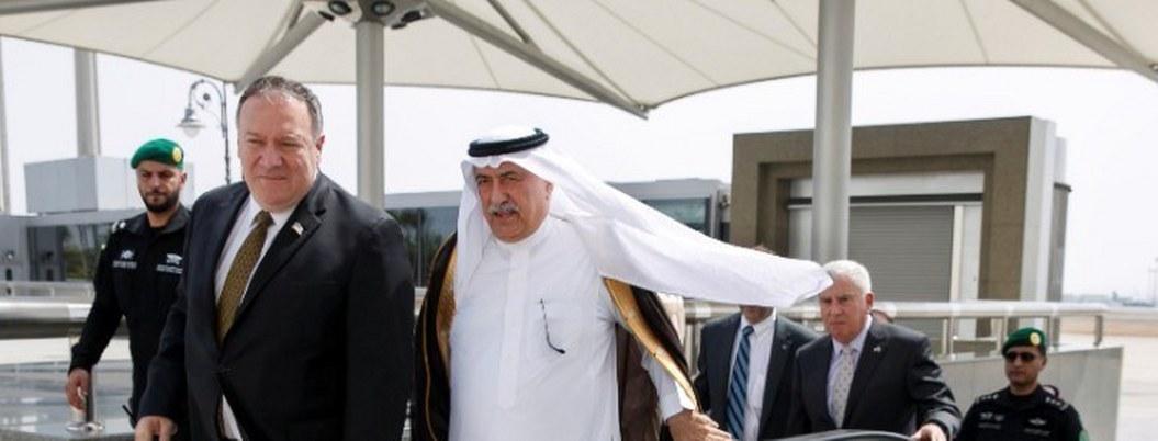 Pompeo llega a Arabia Saudita para tratar crisis sobre Irán