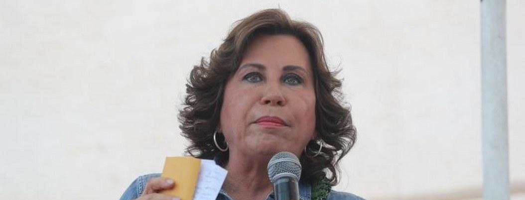 Sandra Torres se perfila ganadora de presidenciales en Guatemala