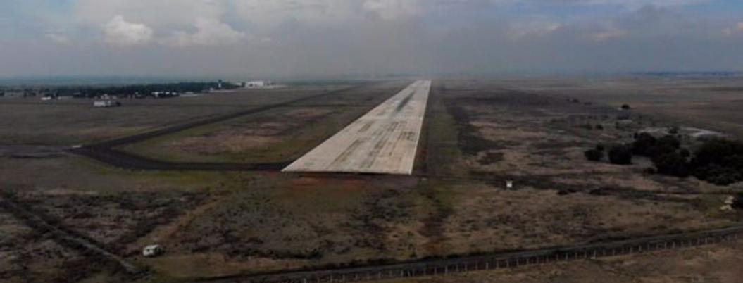 Juez niega suspensión definitiva al aeropuerto de Santa Lucía