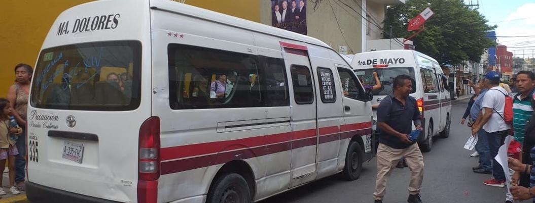 Sindicalizados del Ayuntamiento intensifican protestas en Chilpancingo