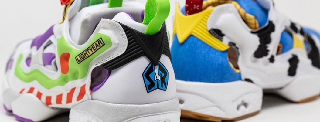 """Reebok y Pixar lanzan tenis inspirados en """"Toy Story"""""""