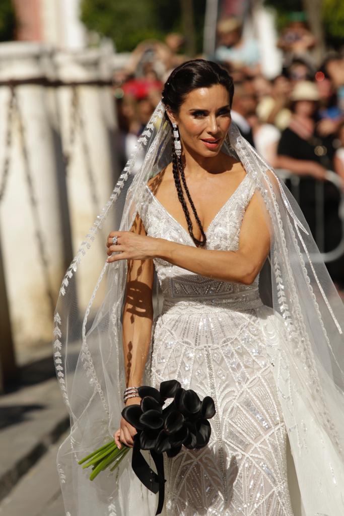 Vestido de Pilar Rubio