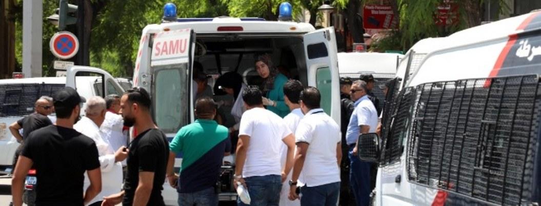 Doble atentado suicida sacude centro de Túnez; muere un policía