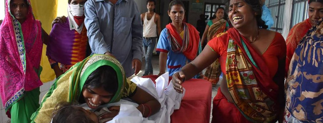 Sube a 100 cifra de muertos por encefalitis en la India
