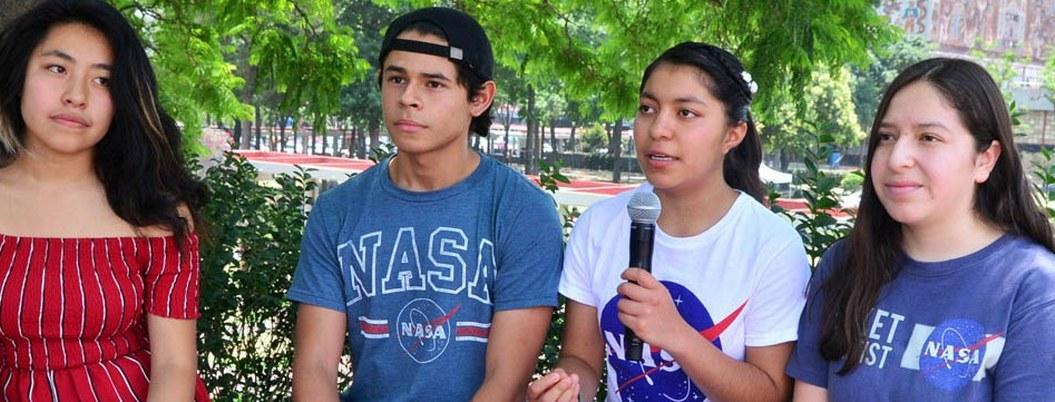 Jóvenes de la UNAM ganan concurso de la NASA