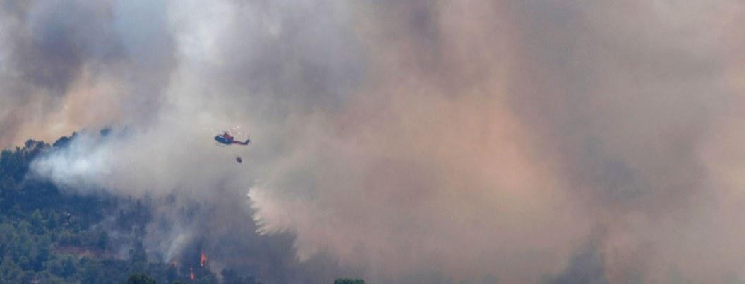 Incendio en región de Cataluña destruye más de seis mil hectáreas