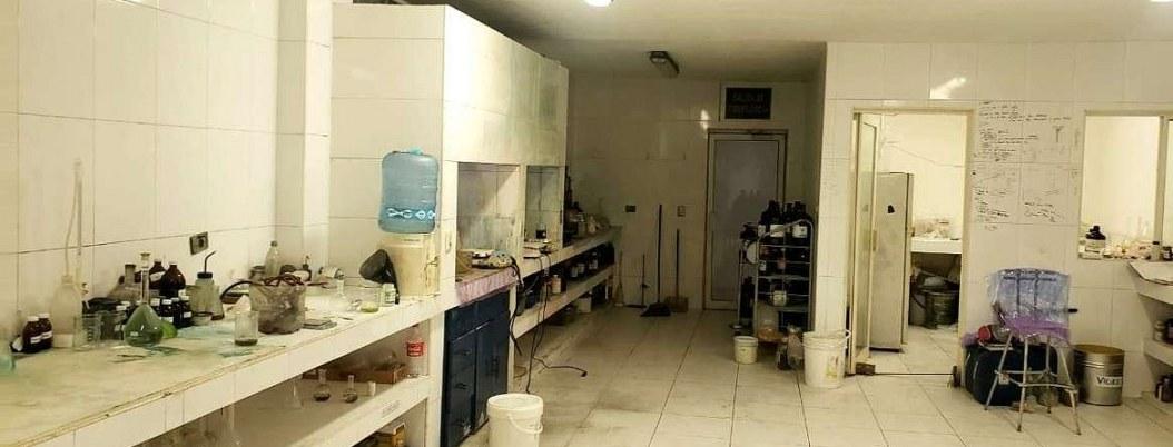 Descubren laboratorio de drogas en García, Nuevo Léon
