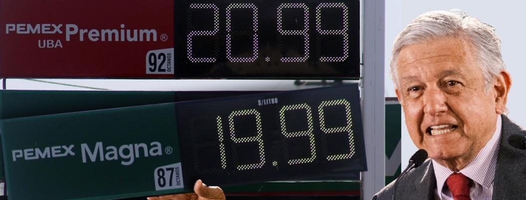 Cuarta Transformación sube costo de gasolina para controlar inflación