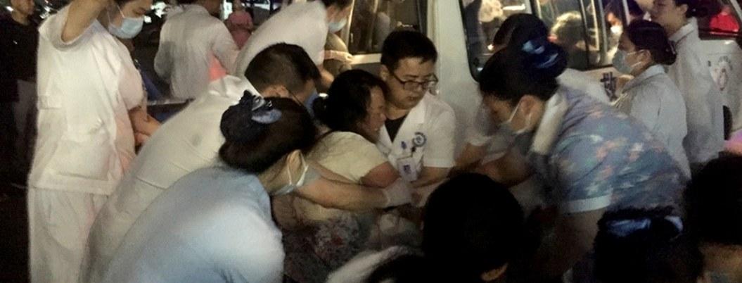 Sismo de 5.4 grados  dejó 31 muertos en China