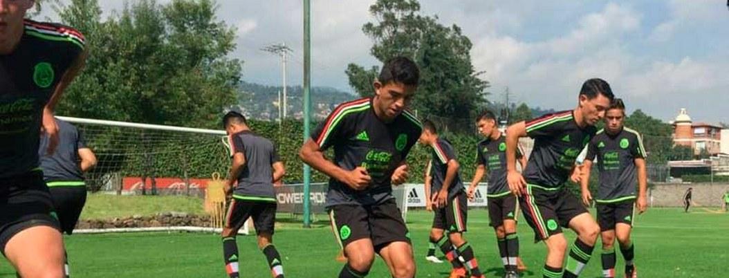 Tricolor Sub 17 se concentra para participar en torneo en Japón