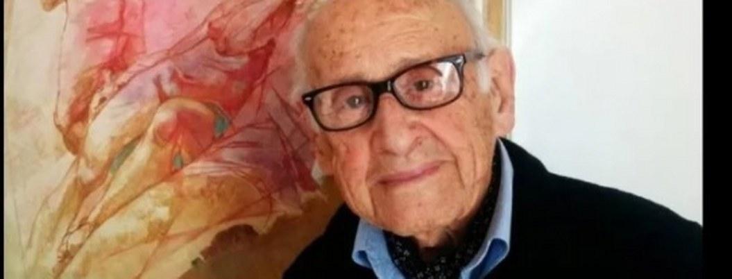 Fallece a los 107, el youtuber italiano que enseñaba arte en su canal