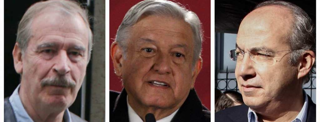 AMLO celebra que expresidentes anden de bocones contra su gobierno
