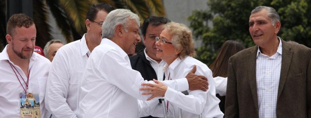 AMLO no quiere que Olga Sánchez abandone la 4T