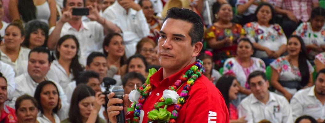 Alejandro Moreno arenga a los guerrerenses para revivir al dinosaurio