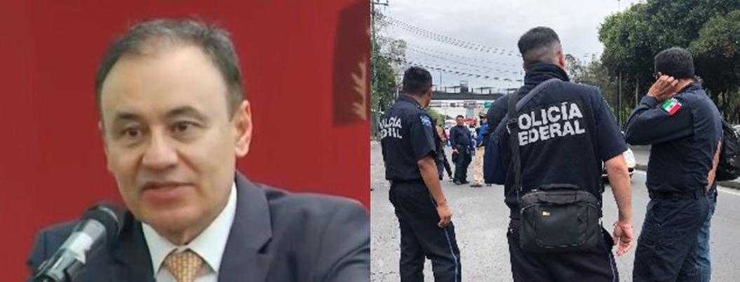 """""""Derechos laborales de policías están asegurados"""": Durazo"""