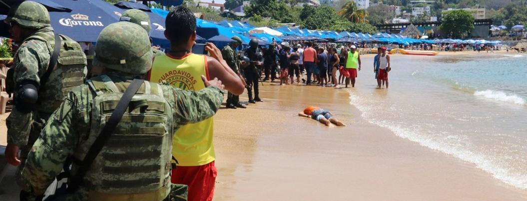 Armas estadunidenses sembraron el terror la última década en Guerrero