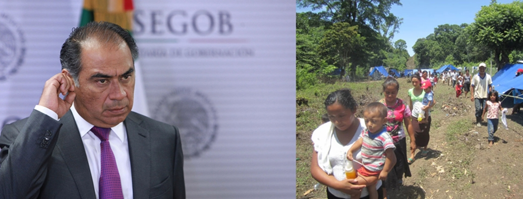Desplazamiento forzado, un problema desatendido por Héctor Astudillo