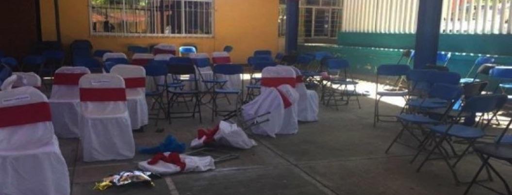 Balacera en kínder deja 4 muertos y varios heridos en Puebla