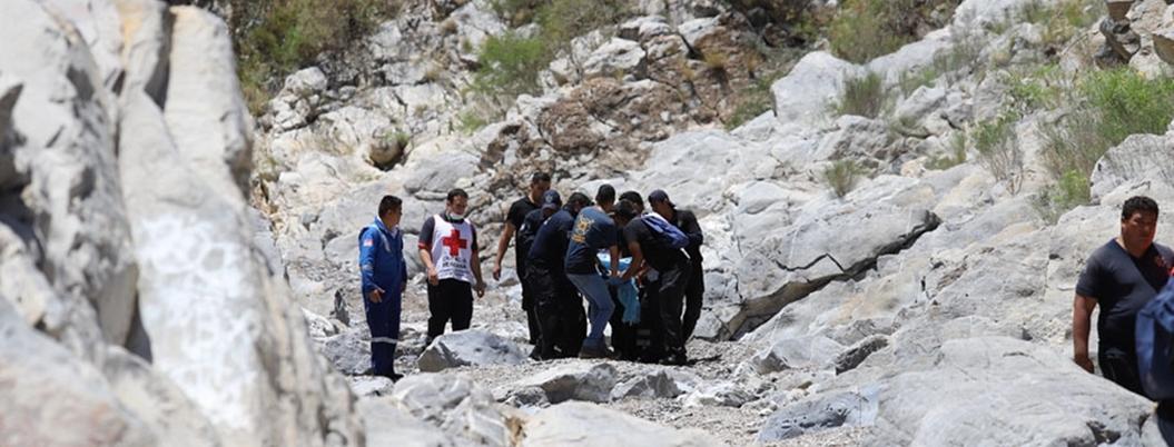 Hallan cuerpos de ocho personas arrastradas por un arroyo en Coahuila