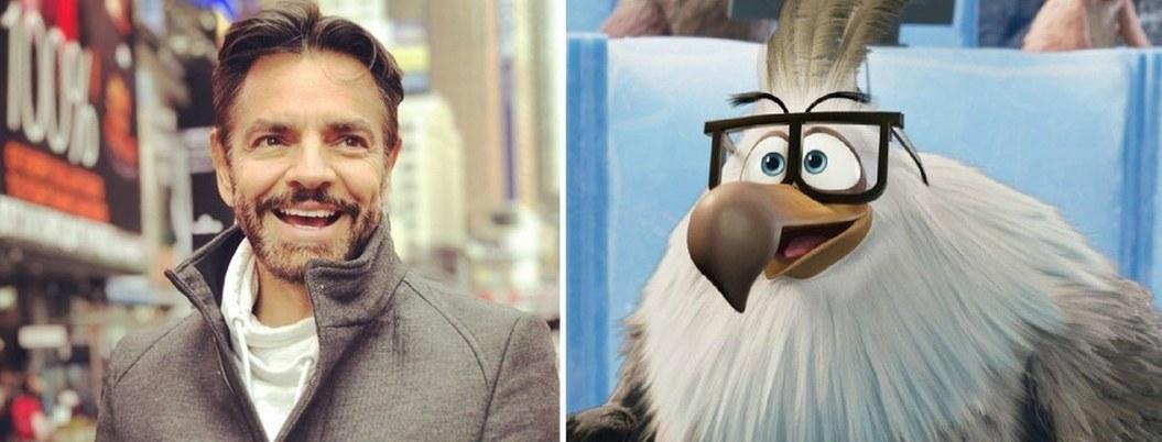 """Eugenio Derbez hará a voz de Glenn en """"Angry Birds 2"""""""