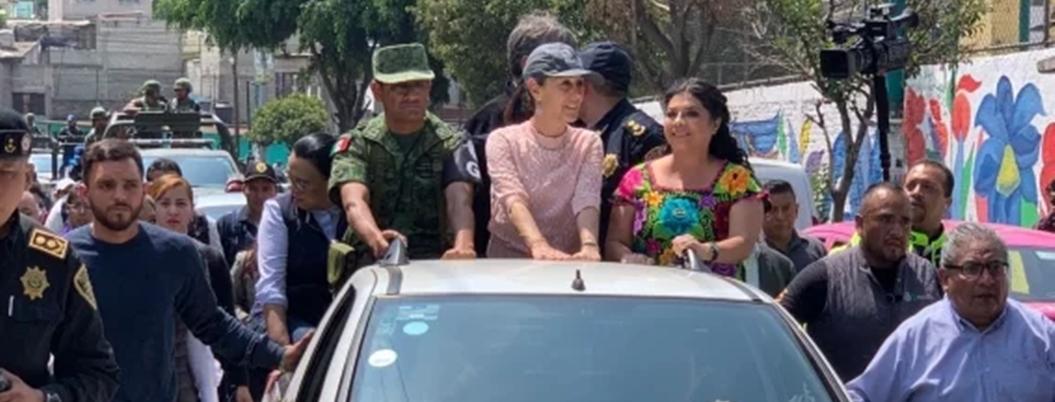 Guardia Nacional ya recorre las calles de Iztapalapa