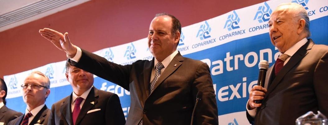 Coparmex celebra que no haya recesión