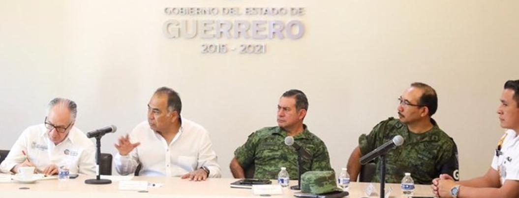 Astudillo atiende violencia en Chilapa... desde su escritorio