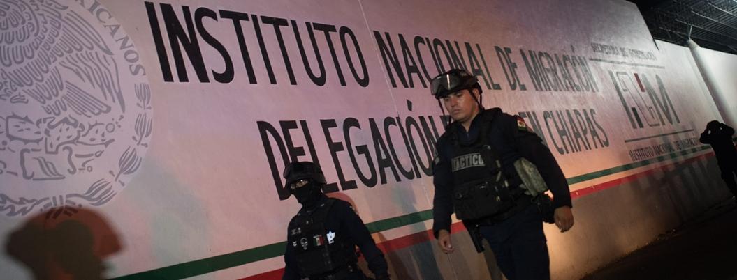 """Se persigue a tratantes no a migrantes"", aclara Jesús Ramírez"