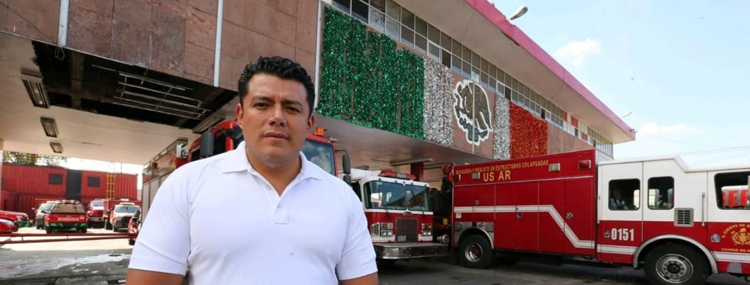 Ismael Figueroa deja de ser líder del sindicato de bomberos de la CDMX