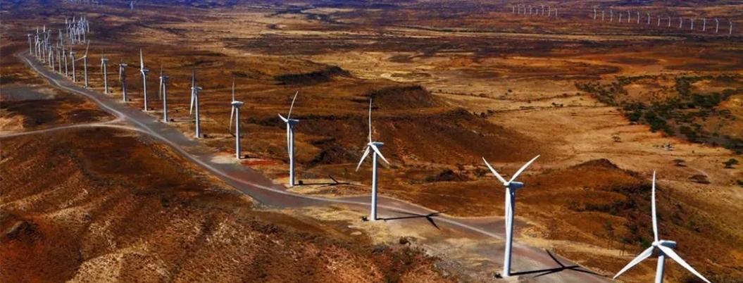 Kenia se pone al día en medio ambiente: crea planta eólica gigantesca