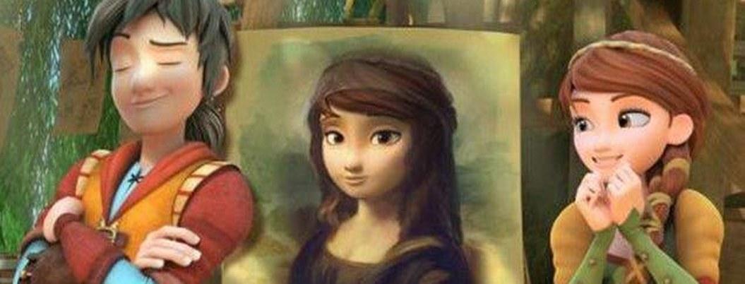 Filme de animación italiano evoca adolesencia de Leonardo Da Vinci