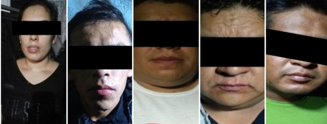 Detienen a siete narcomenudistas de Los Rodolfos