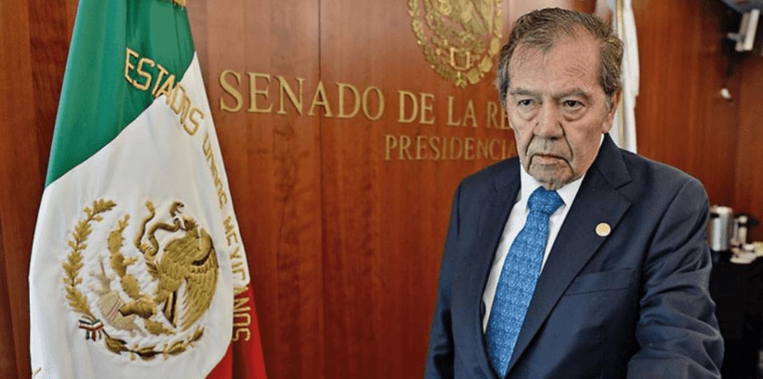 Muñoz Ledo busca desaparecer poderes en Baja California