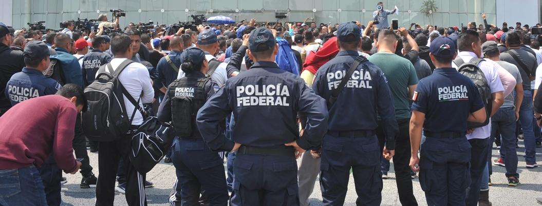 Piden indemnización 8 mil policías federales