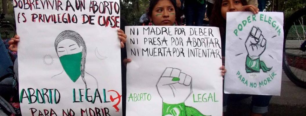 Presas por abortar, doscientas mujeres en México